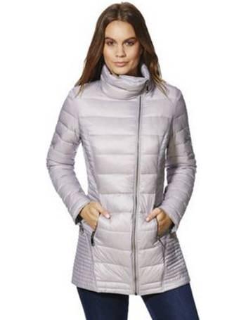 ladies down hooded jacket tesco