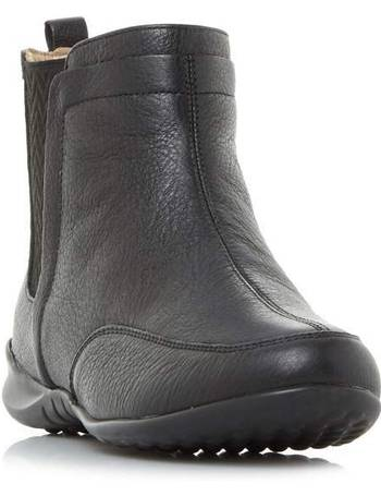e423a227e0c3 Hush Puppies. Lindsi Bria Gusset Detail Ankle Boots. from House Of Fraser