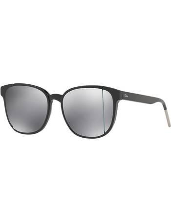 27ec6a03b1fc Cd Diorstep 55 Black Square Sunglasses from Sunglass Hut Uk