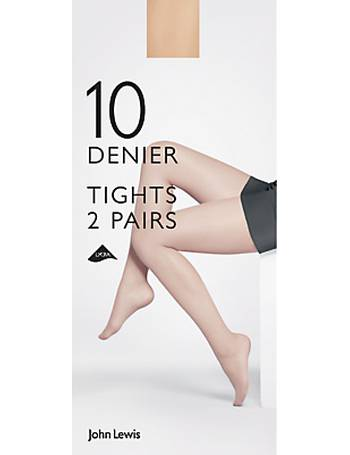 d16accc34 Shop Women s John Lewis Denier Tights up to 70% Off