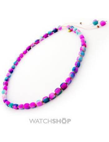 57c7249353d46 Ladies Lola Rose Gold Plated Eleni Rainbow Quartzite Necklace