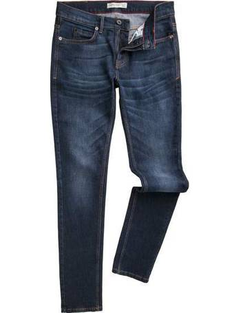 fe955ae87 Men's Racing Green Marr slim fit stretch stone wash jeans from House Of  Fraser