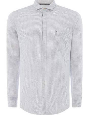 89c3f839 Men's Hugo Boss Cattitude mini paisley print shirt from House Of Fraser