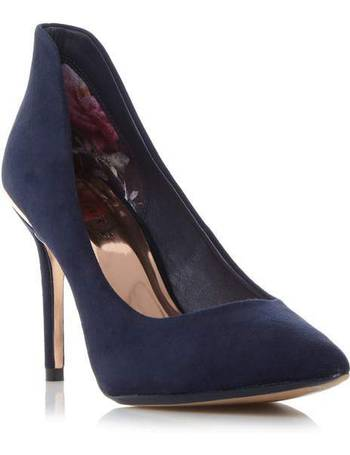 4c2bead67e486b Ted Baker. Saviy high back court shoes. from House Of Fraser