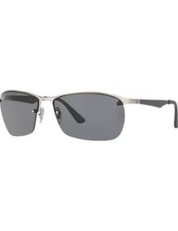 2ec2916492d8d Ray-ban. RB3550 Polarised Rectangular Sunglasses. from John Lewis