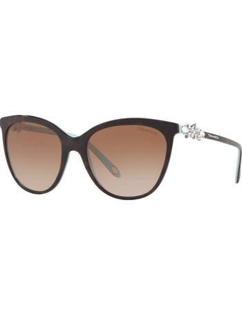 21a33a09ea Tiffany   Co. TF4131HB Embellished Cat s Eye Sunglasses