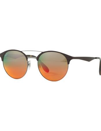 caaa7d7ba24fc Shop Women s Ray-ban Oval Sunglasses up to 60% Off