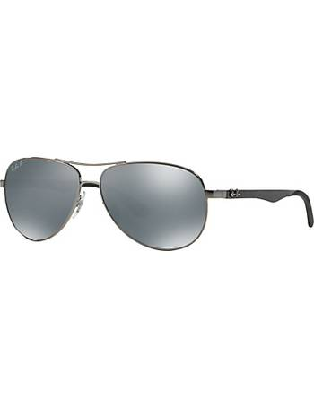 d4f8a7ea8577c Ray-ban. RB8313 Polarised Aviator Sunglasses. from John Lewis