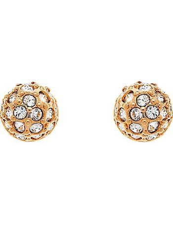 b79d38c7db8c Cachet. Pave Ball Swarovski Crystal Stud Earrings. from John Lewis