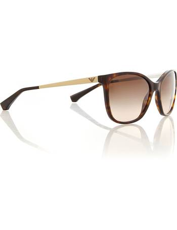 af4a157be7e2 Emporio Armani. Ladies cat eye sunglasses. from House Of Fraser