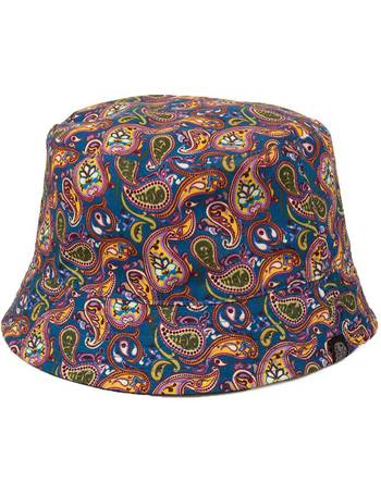 d975bac661b Pretty Green. Paisley reversible astan bucket hat. from House Of Fraser