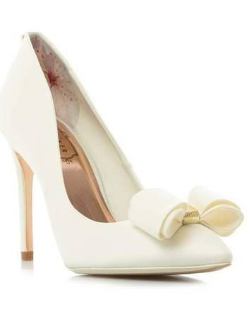 b2079fd23fb185 Ted Baker. Azeline bow court shoe. from House Of Fraser