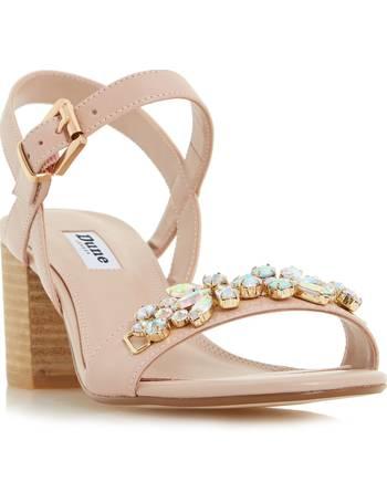 ed1ddca4a933 Shop Women s Dune Block Sandals up to 80% Off