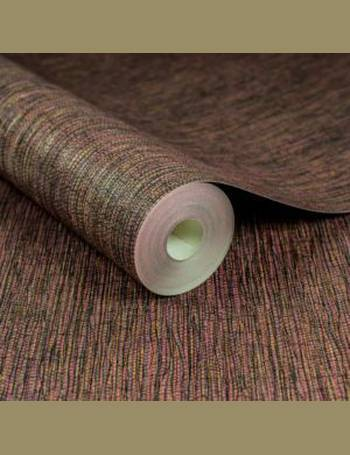 Boutique Kyoto Red Grass Cloth Textured Wallpaper From BQ