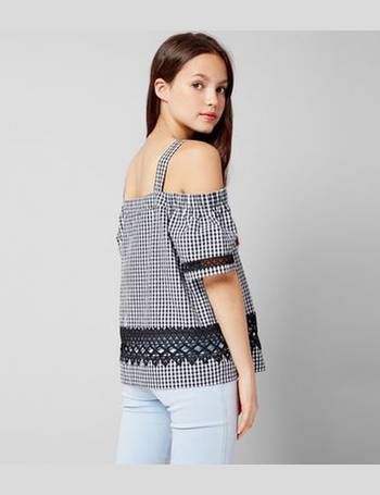 4913e774500 Shop New Look Girl's Cold Shoulder Tops up to 80% Off | DealDoodle