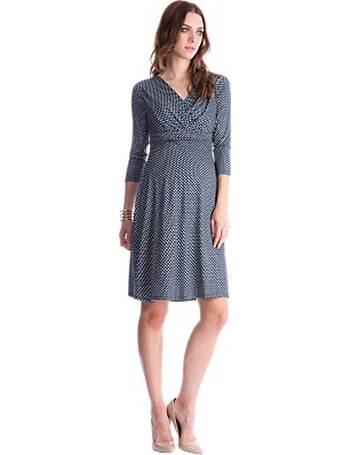 bdd2235f9f7 Séraphine. Pia Patterned Maternity Nursing Dress