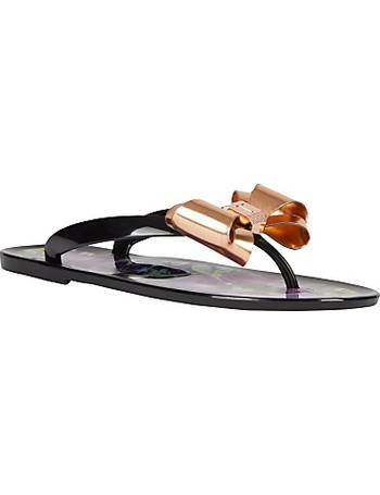 53cfdee3cce4a6 Ted Baker. Rueday Entangled Enchantment Flip Flops