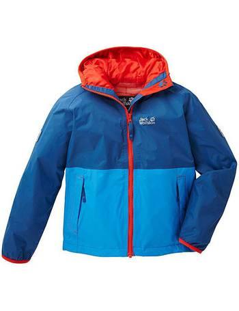fa8981fcc Shop Jack Wolfskin Boy s Jackets up to 45% Off