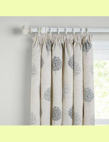 2e246efaf7ca Mini Olive Trees Pair Lined Pencil Pleat Curtains from John Lewis