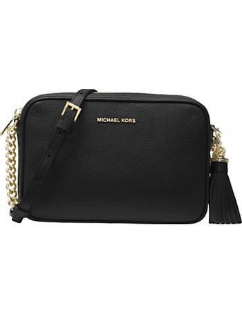 b037189b9254 Shop Women's Michael Kors Leather Crossbody Bags up to 50% Off ...
