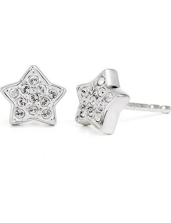 7a000dce8 Sterling Silver Swarovski Petite Star Stud Earrings from H Samuel