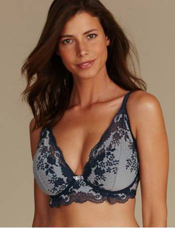 d0424e4f0c19c Shop Women s Marks   Spencer Lace Bras up to 90% Off