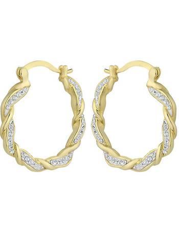 700cd5e9a Shop Women's Evoke Silver Earrings up to 30% Off   DealDoodle