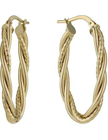 f8b533c5008b6 Shop Women's H Samuel Hoop Earrings up to 75% Off | DealDoodle