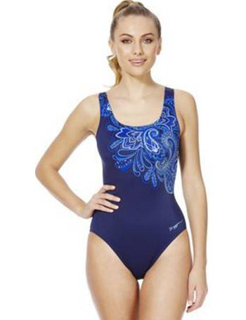09d302773b Swimshapes Body Shaping Paisley Print Swimsuit from Tesco F&F Clothing