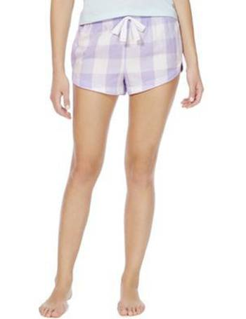 9e5c117b9f17 Sparkle Checked Lounge Shorts from Tesco F&F Clothing