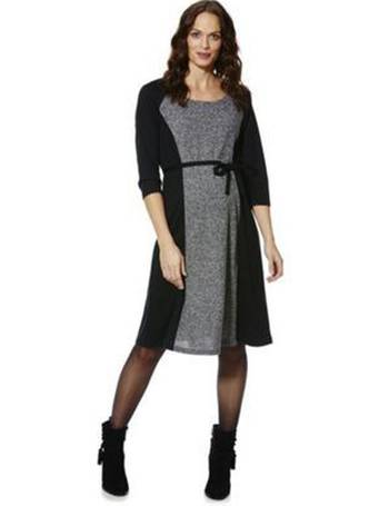 8eea3f0387fd2 Mamalicious Marl Panel Jersey Maternity Dress from Tesco F&F Clothing