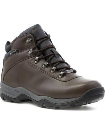 23664aeabef Mens Brown Waterproof Walking Boot
