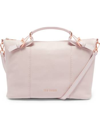 bde73d5ce Ted Baker. Salbee Pop Handle Large Leather Tote Bag. from House Of Fraser