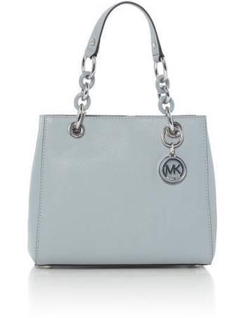Michael Kors. Cynthia blue small tote bag. from House Of Fraser f39db9c6b4b24