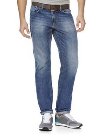 367095df3d6 Straight Leg Jeans with Belt from Tesco F&F Clothing
