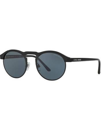 37e18eab9581 Giorgio Armani. Ar8090 49 Black Round Sunglasses. from Sunglass Hut Uk