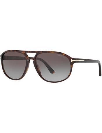 2d8a699917ca Tom Ford. Ft0447 Jacob 60 Brown Pilot Sunglasses. from Sunglass Hut Uk
