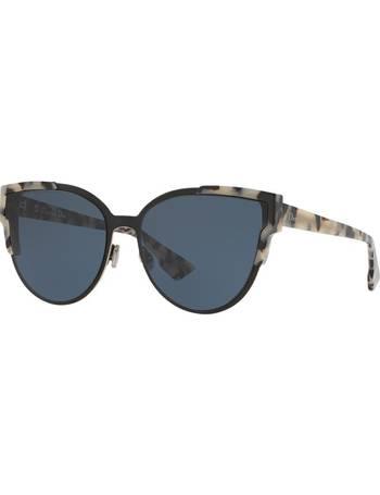 ba4a9b526e10 Cd Wildly Dior 60 Black Round Sunglasses from Sunglass Hut Uk