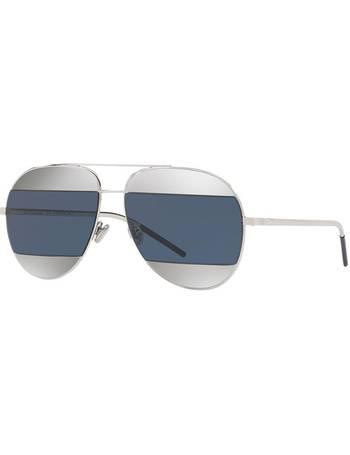 661f14293ceb Dior. Cd Split1 59 Gunmetal Pilot Sunglasses. from Sunglass Hut Uk