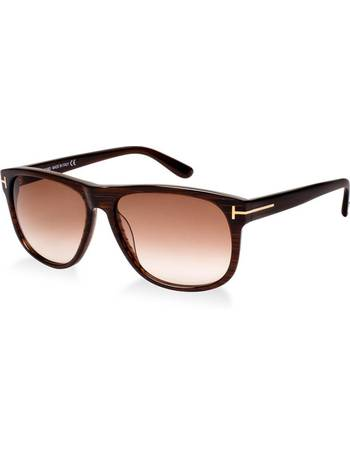 9d9ab2a209b4 Tom Ford. Ft0236 Brown Rectangle Sunglasses. from Sunglass Hut Uk