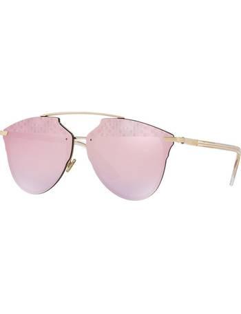 cb29f19c782f Cd Reflected Prism 61 Gold Square Sunglasses from Sunglass Hut Uk
