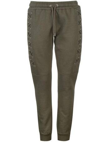 51c442a5d1720e Golddigga. Soft Fleece Relaxed Joggers Ladies. from Sports Direct. £29.99.  Lace Up Fashion Jogging Bottoms Ladies from Sports Direct