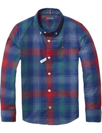 b4f4c37bab70 Shop Tommy Hilfiger Boy's Check Shirts up to 50% Off | DealDoodle