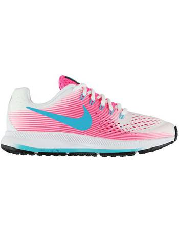 9208c02418f1 ... new arrivals nike. zoom pegasus 34 running shoes junior girls. from sports  direct 09a62