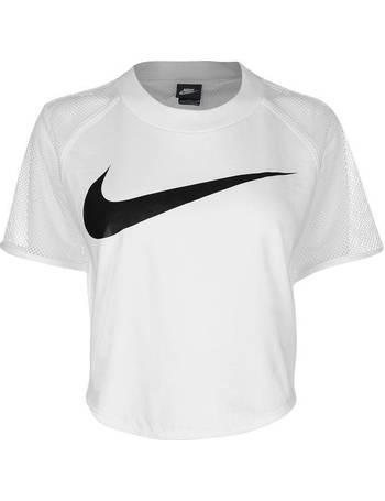 Nike. Swoosh Crop Top Ladies. from Sports Direct 58b37a20b7
