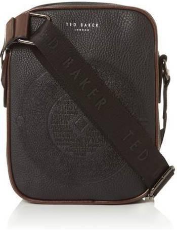 942badab372 Ted Baker. Embossed PU Mini Flight Bag. from House Of Fraser