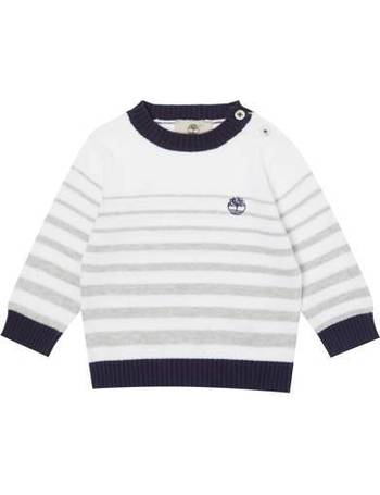 f8be2030596 Timberland. Baby Boys Striped Knitted Top. from House Of Fraser