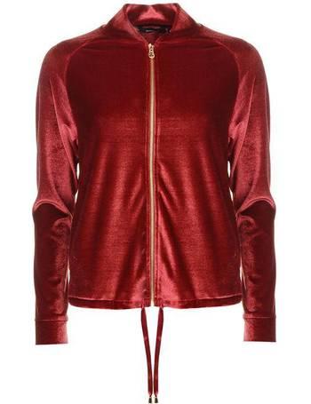 Golddigga Crop Bomber Jacket Ladies