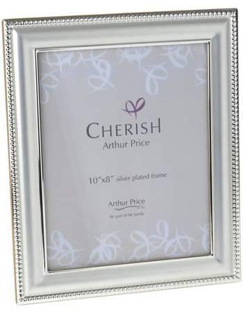 964a95189c4a Arthur Price. Silver Plated Bead Photograph Frame 8x10