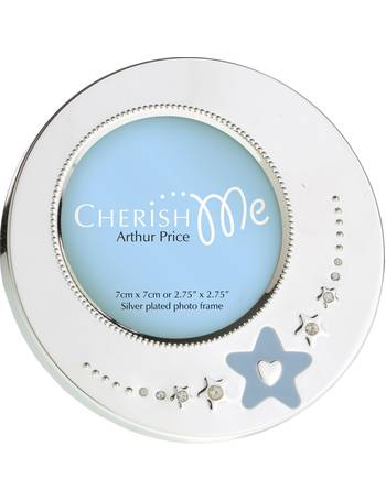 e733d2a37cbe Arthur Price. Silver Plated Oxford Photograph Frame 3.5x5. from House Of  Fraser. £15.00. Cherish Me Boys Round Frame from House Of Fraser
